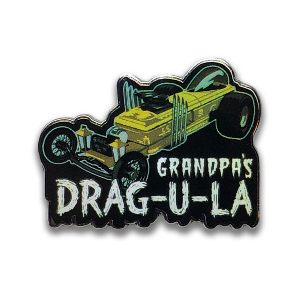 Grandpa's DRAG-U-LA Collectable Pin* - 0659682807201