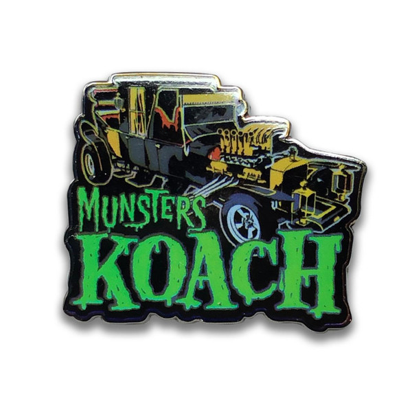 The Munsters Koach Collectable Pin* - 0659682807232