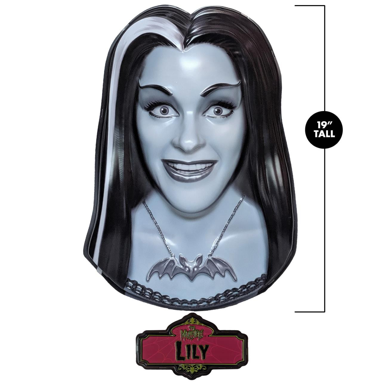 Lily Munster 3D Wall Decor* - 0659682815695