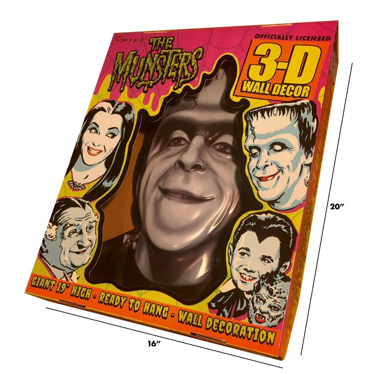 Herman Munster 3-D Wall Decor* - 0659682815701