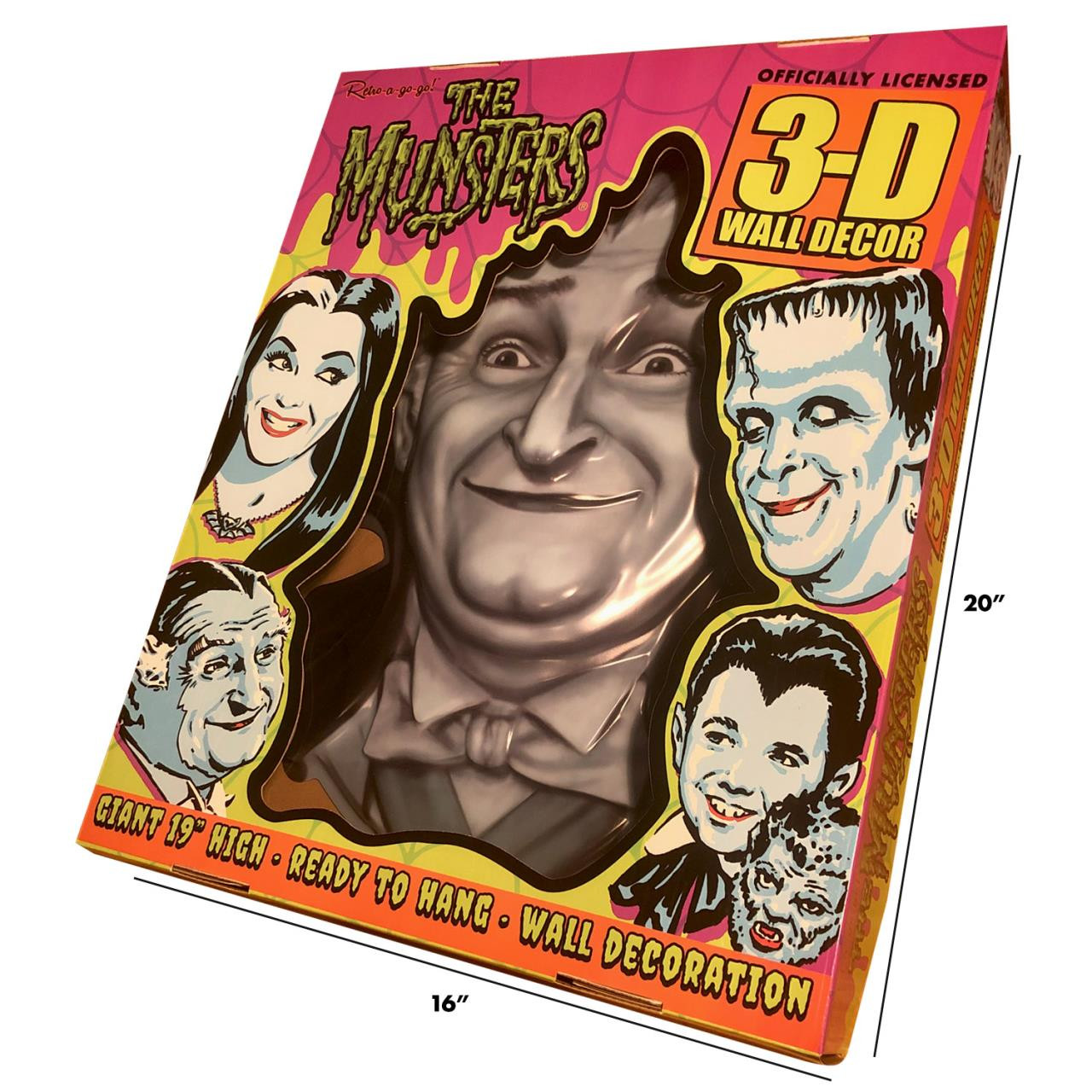 Grandpa Munster 3-D Wall Decor* - 0659682815688