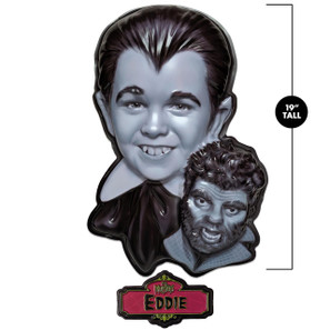 Eddie Munster 3-D Wall Decor* - 0659682815671