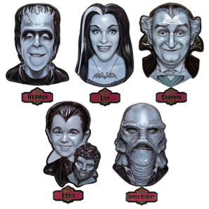 The Munsters 3-D Wall Decor Collection* - 0659682808185