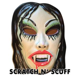 Scratch N' Scuff Vampyra Girl Vac-tastic Plastic Mask -