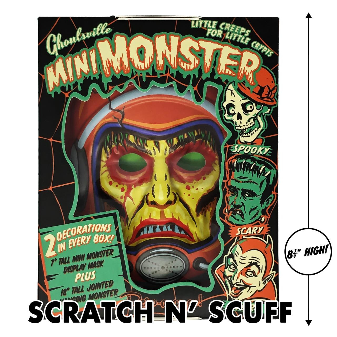 Scratch N' Scuff Astro Zombie Mini Monster -