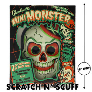 Scratch N' Scuff Crazy Bones Mini Monster -
