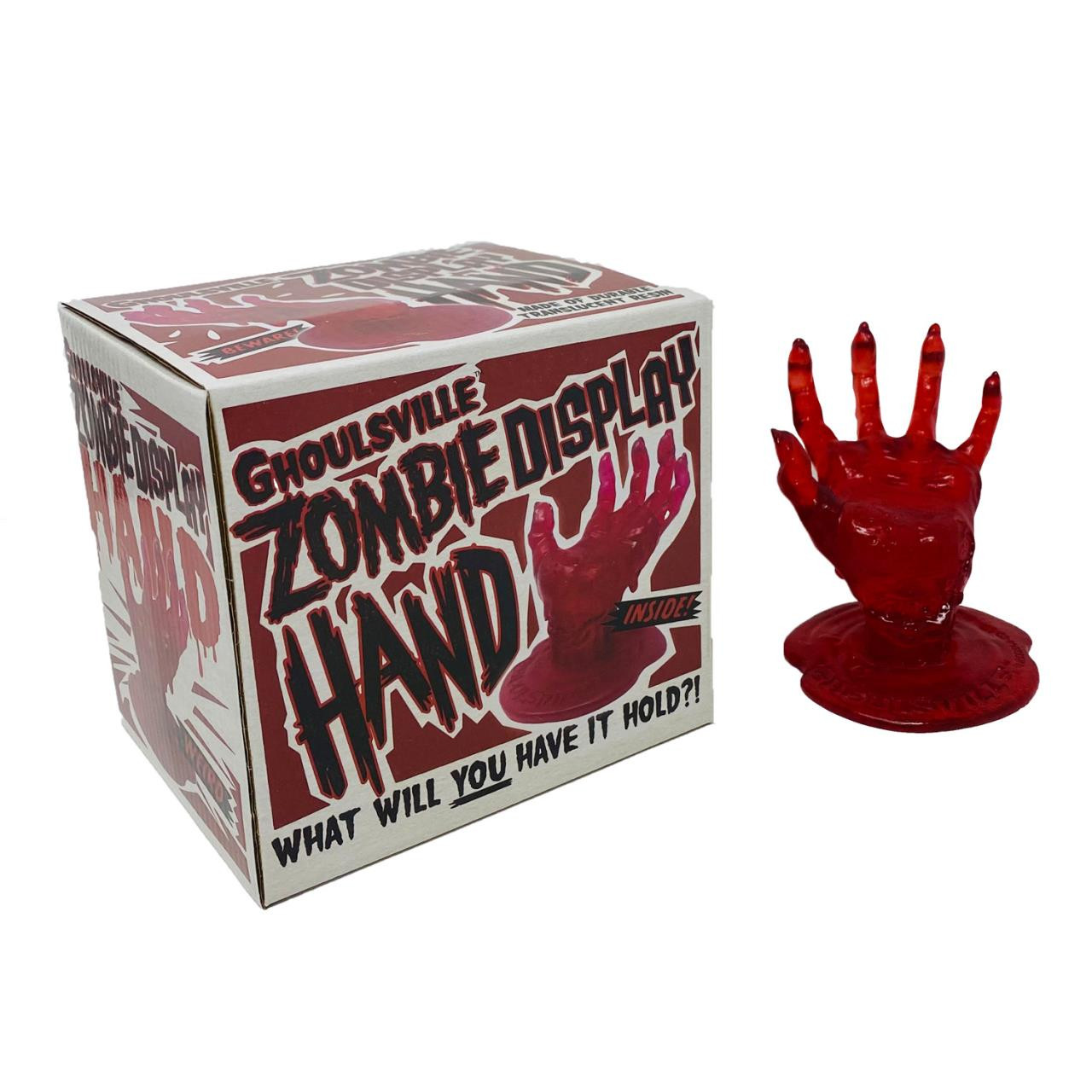 Blood Red Zombie Display Hand* - 0659682810065