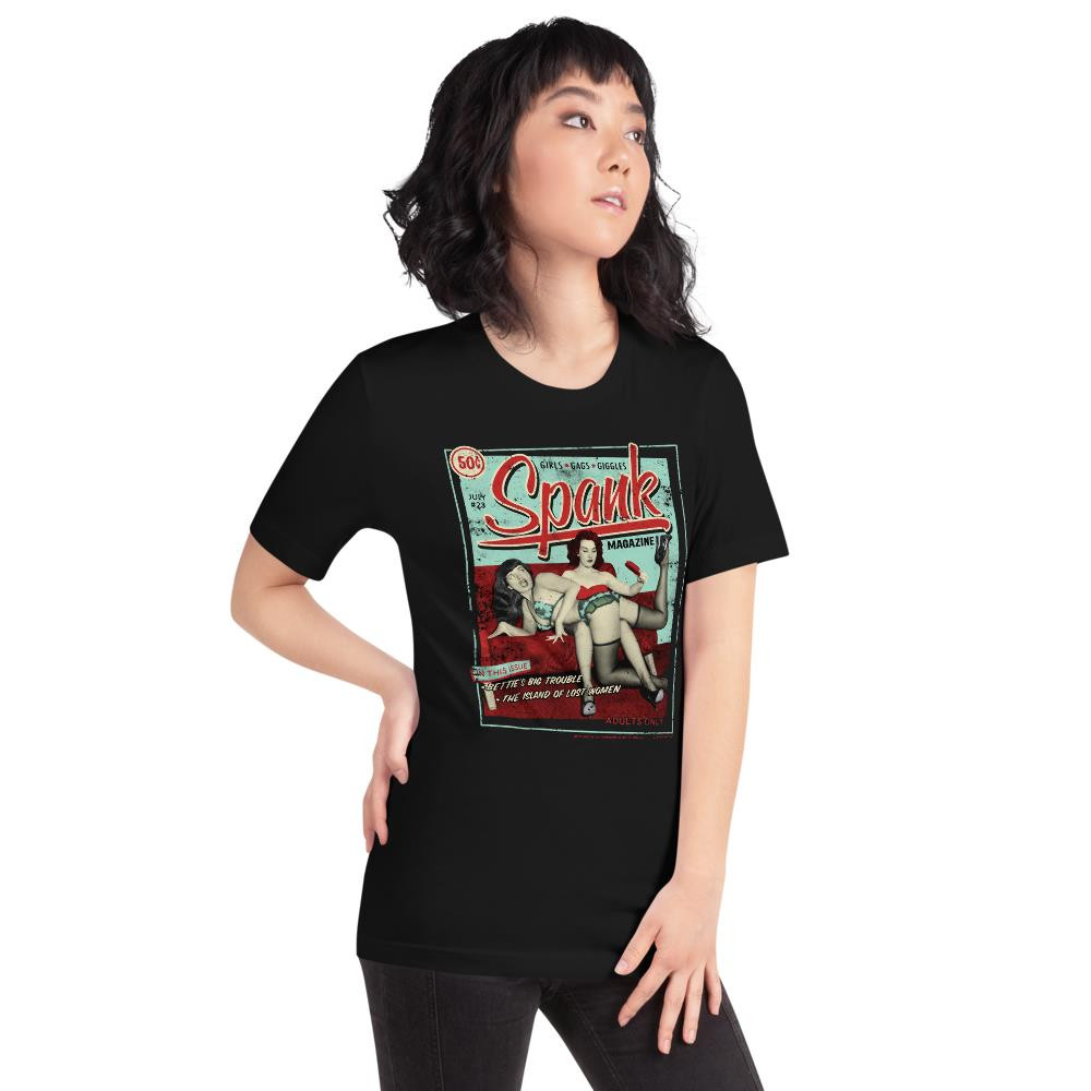 Bettie Page Spank Essential Unisex T-Shirt* -