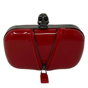 Naughty Noir Red Clutch* -