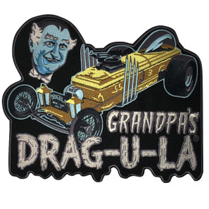 Grandpa's DRAG-U-LA Back Patch* - 0659682815541