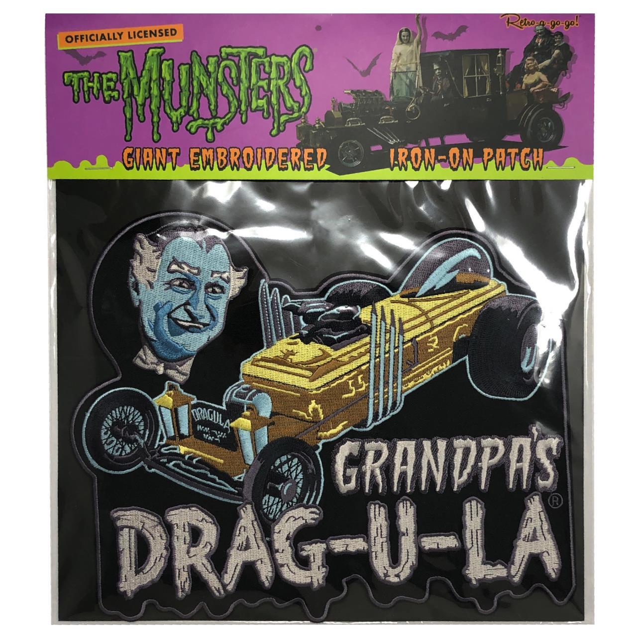 Grandpa's DRAG-U-LA Back Patch* - 0659682815541