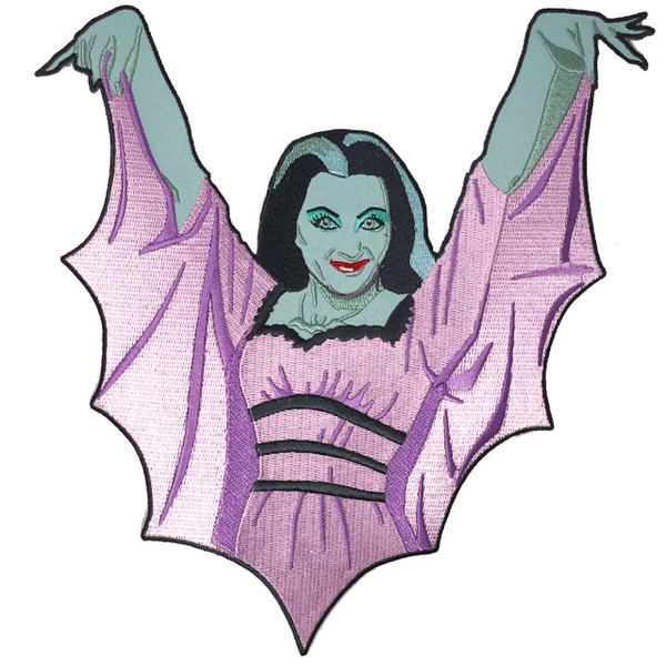 Lily Munster Back Patch* - 0659682815558