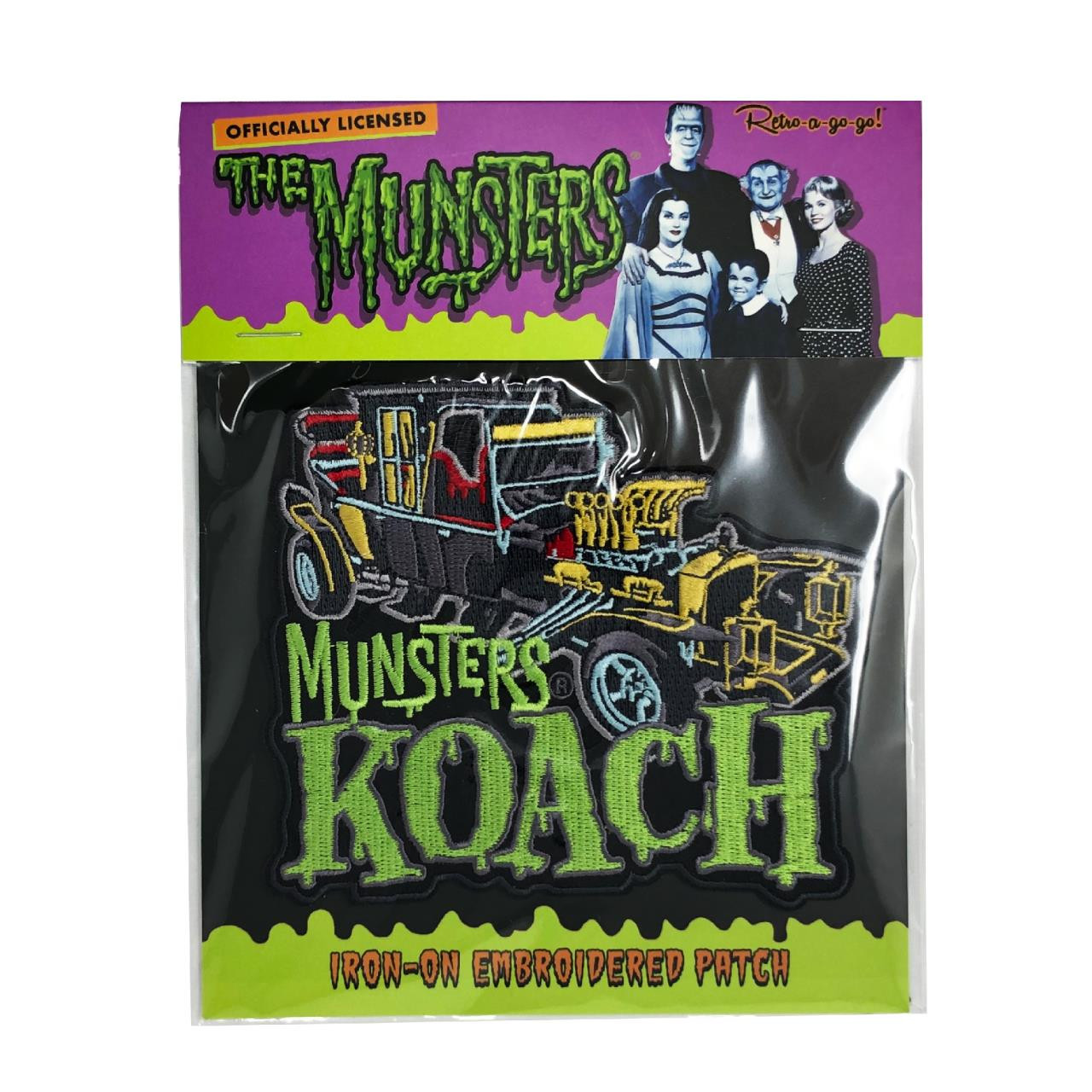 The Munsters Koach Patch* - 0659682815572