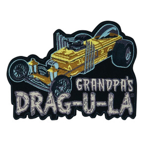 Grandpa's DRAG-U-LA Patch* - 0659682815619