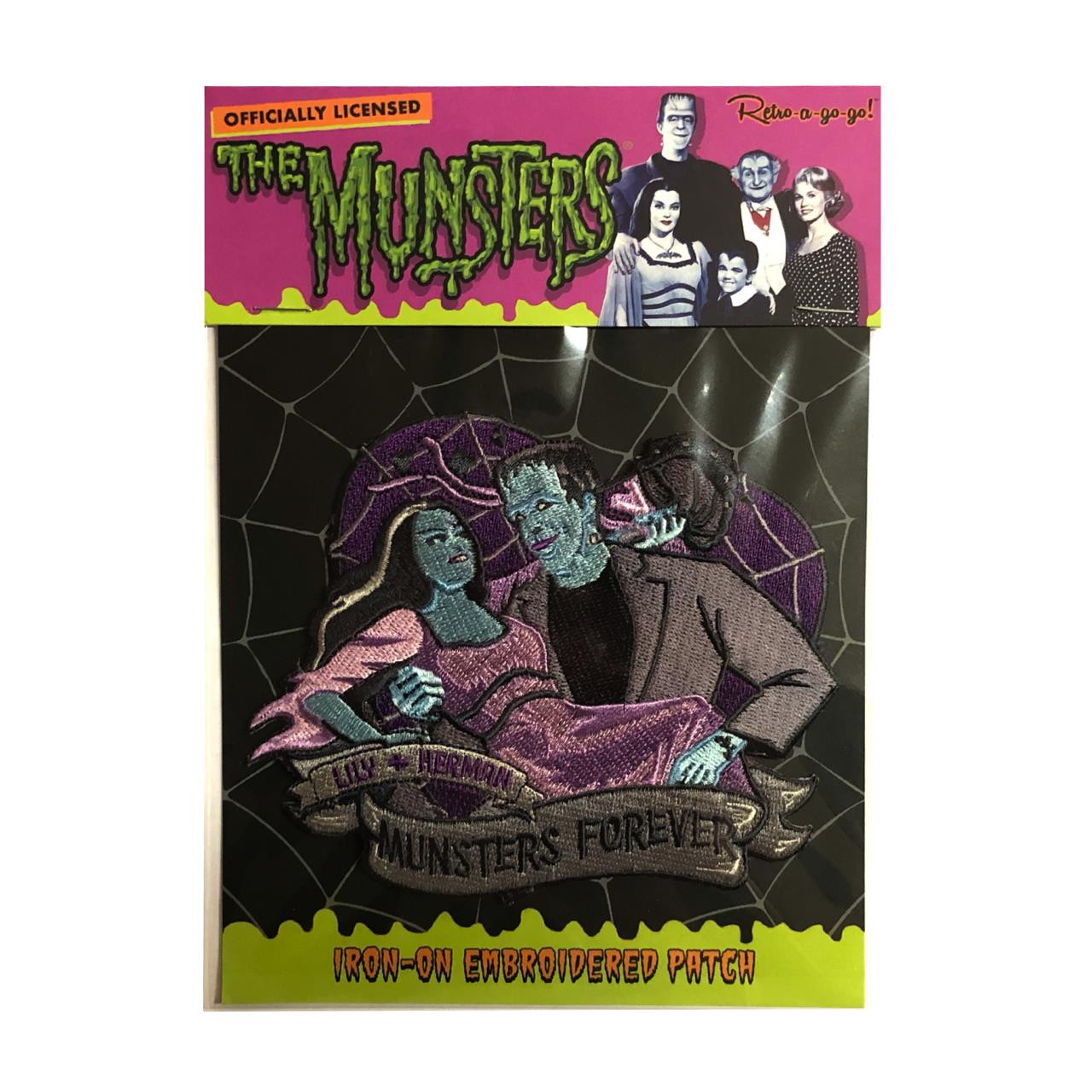 Munsters Forever Patch* - 0659682815589