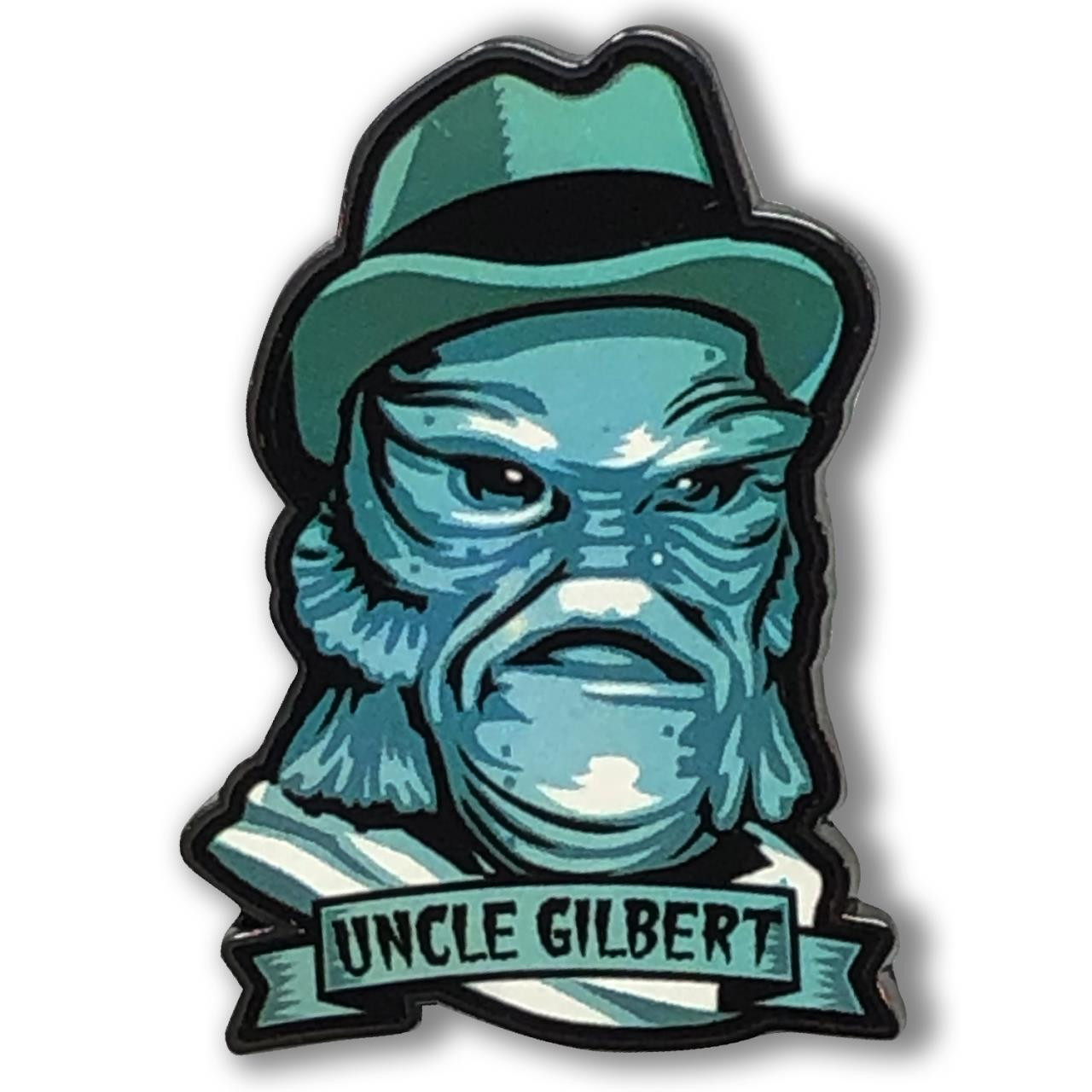Uncle Gilbert Collectable Pin* - 0659682815497