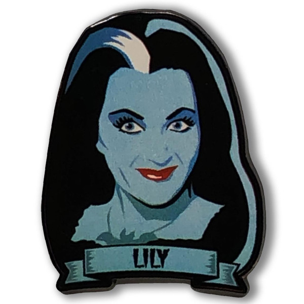 Lily Munster Collectable Pin* - 0659682815466