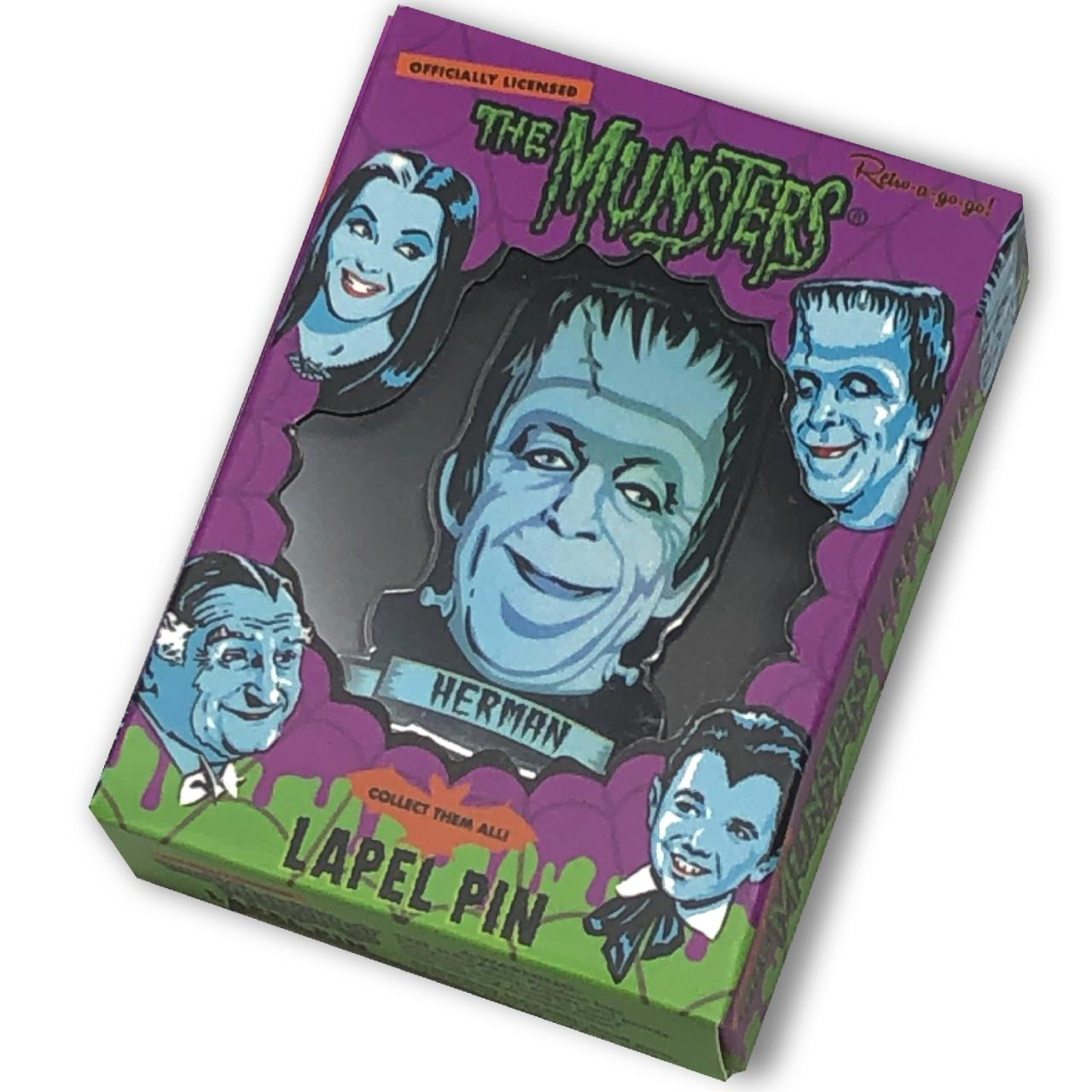 Herman Munster Collectable Pin* - 0659682815473