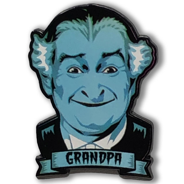 Grandpa Munster Collectable Pin* - 0659682815480