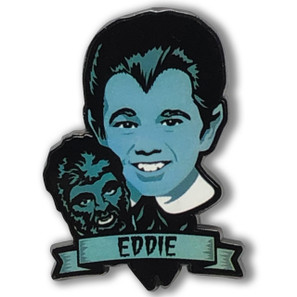 Eddie Munster Collectable Pin* - 0659682815503