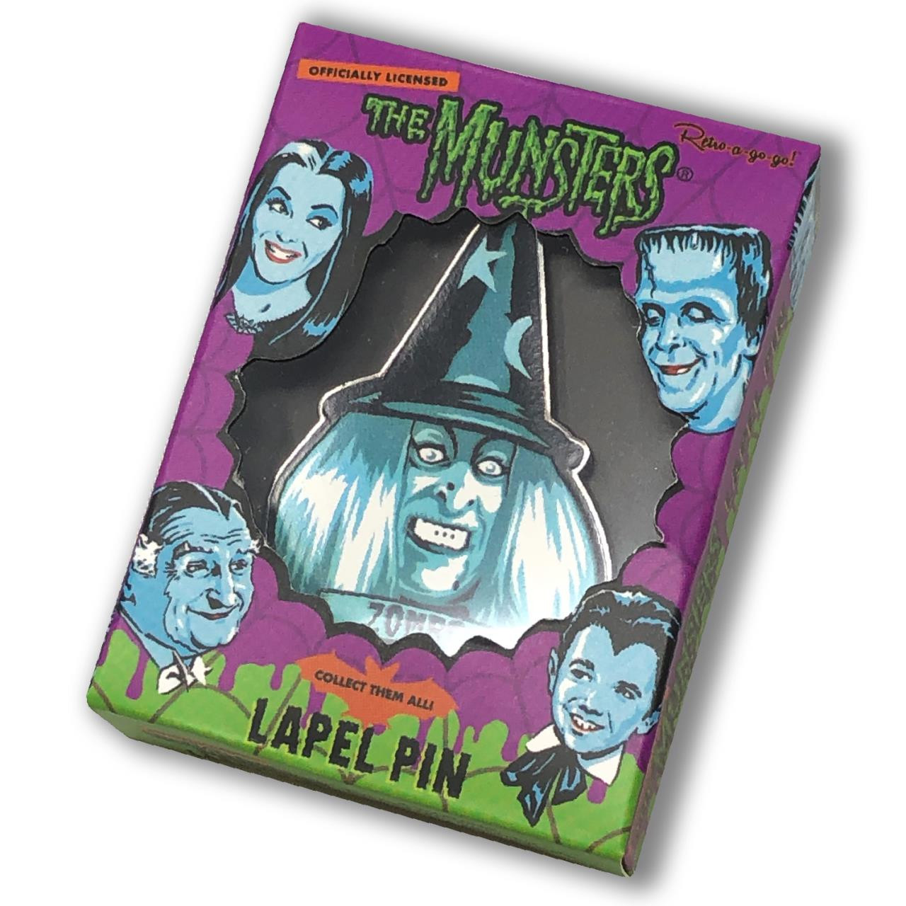The Munsters Family Portrait Pin Collection* -