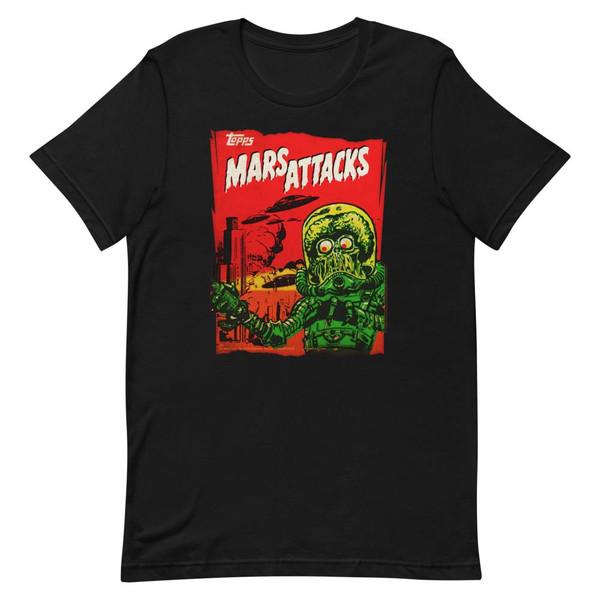 Vintage Mars Attacks Essential Unisex T-Shirt -