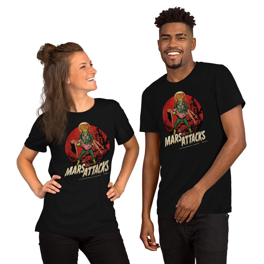 Mars Attacks Victim Essential Unisex T-Shirt* -