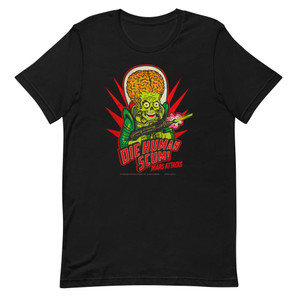 Mars Attacks Die Human Scum Essential Unisex T-Shirt* -