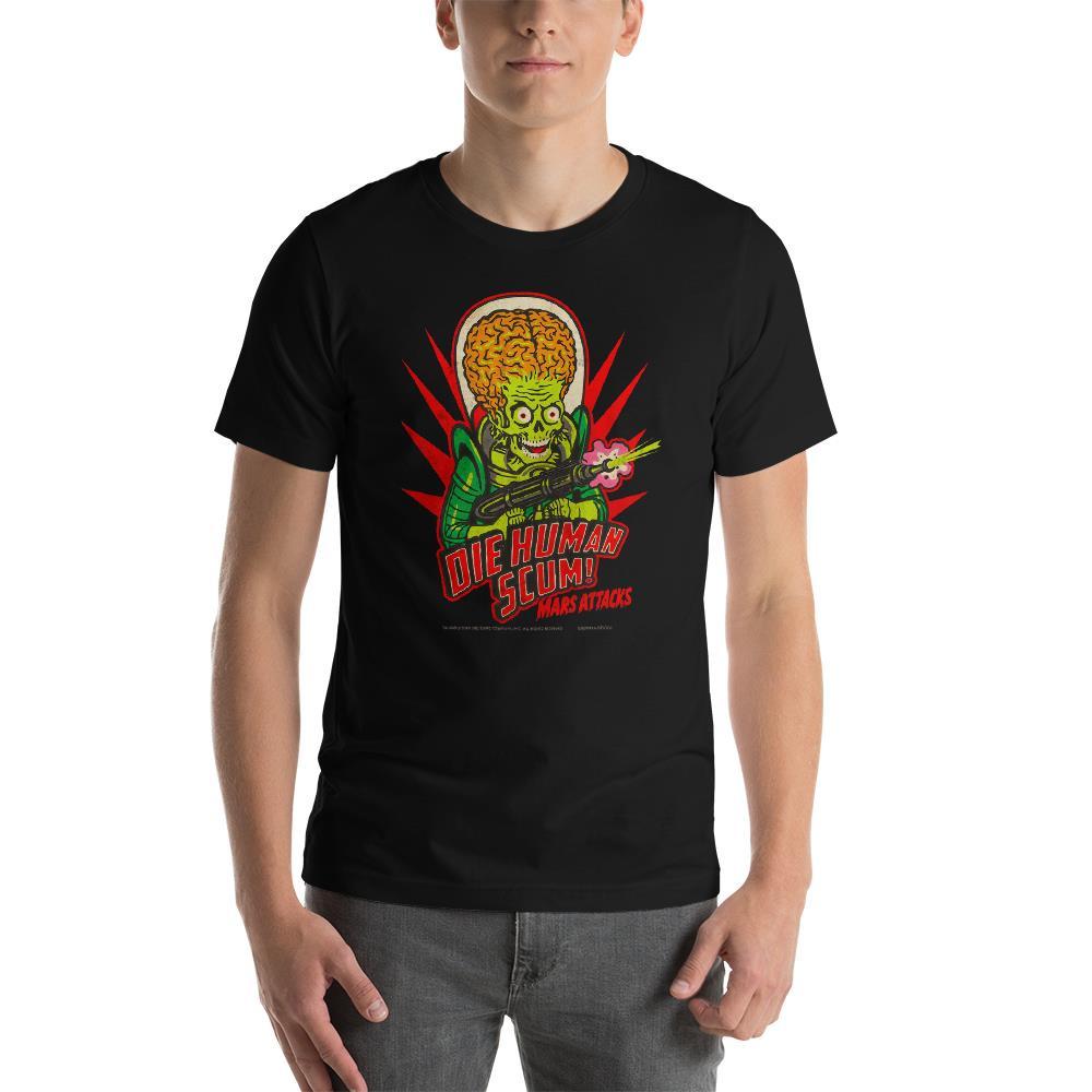Mars Attacks Die Human Scum Essential Unisex T-Shirt* -