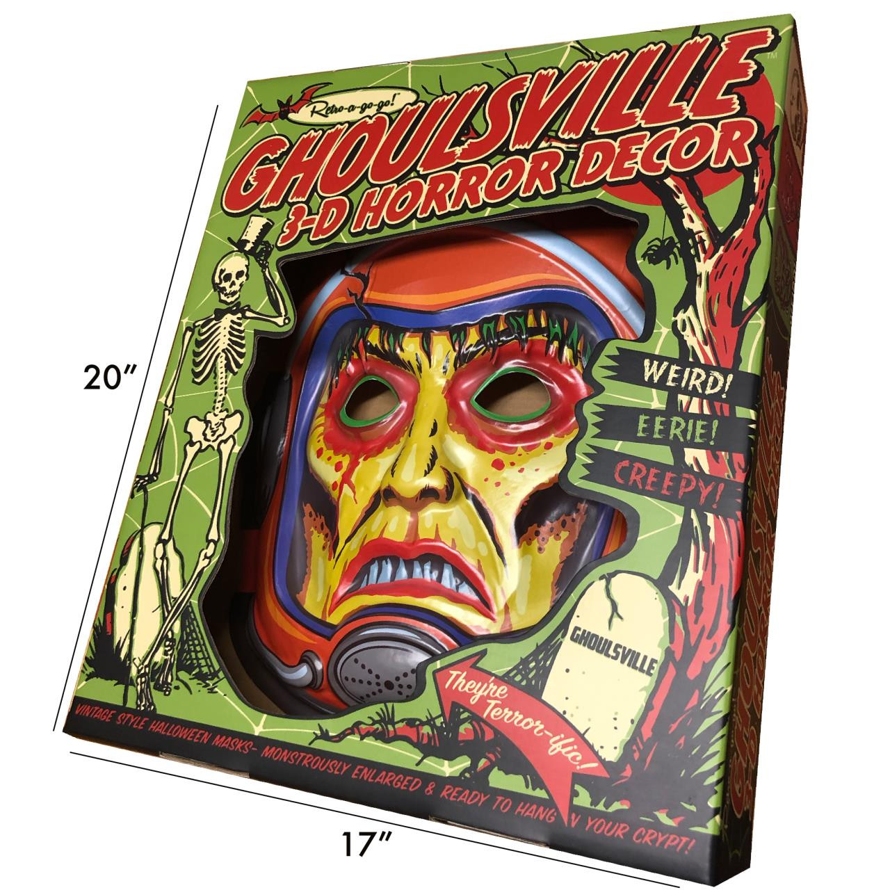 Space Zombie 2001 3-D Wall Decor* -