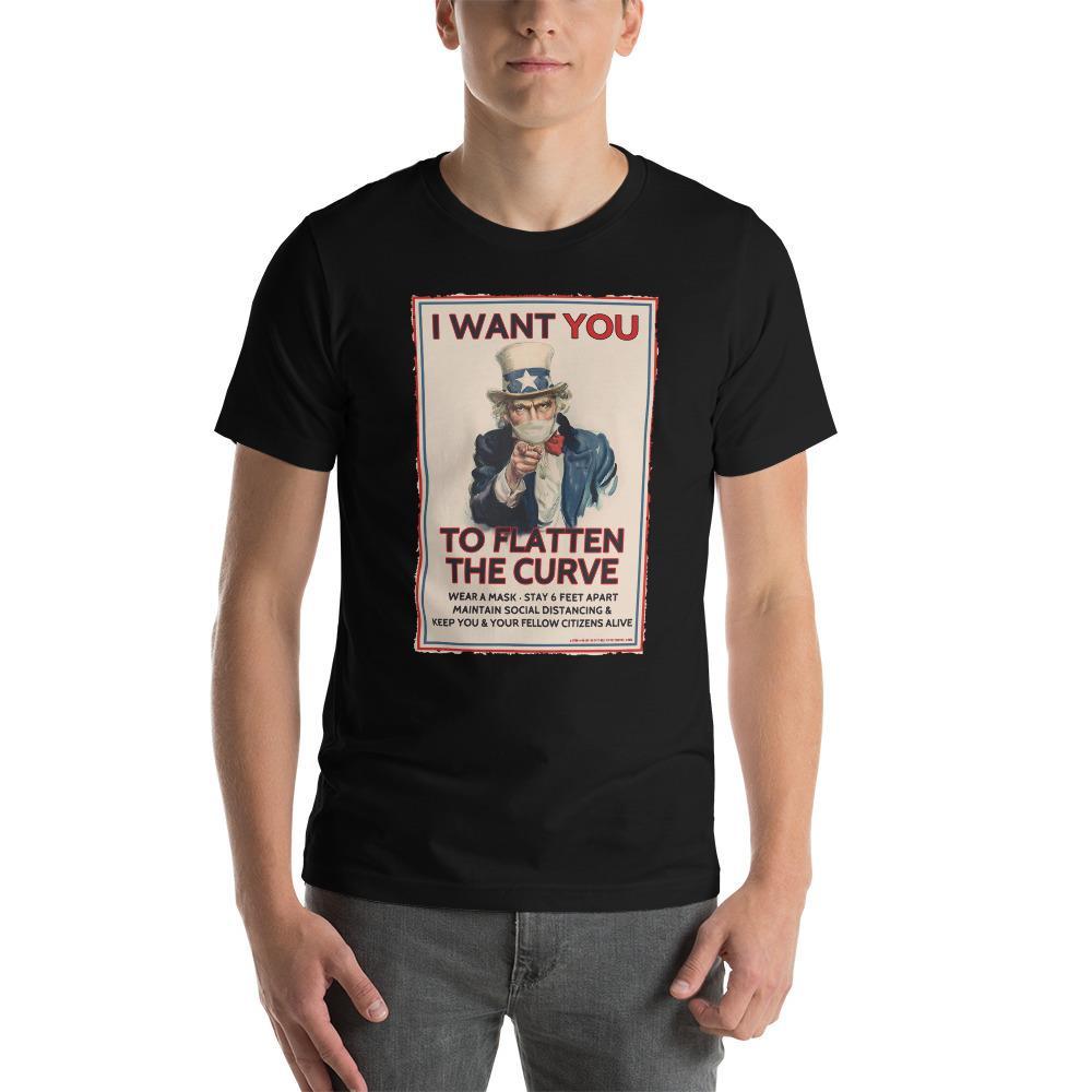 Flatten The Curve Essential Unisex T-Shirt -