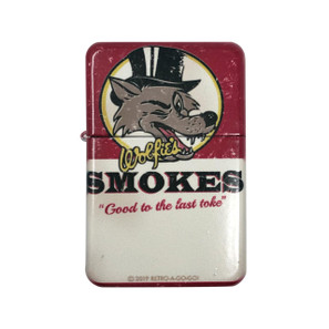 Wolfie's Smokes Lighter w/Tin* -