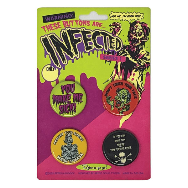 Infected Button Set 1* -