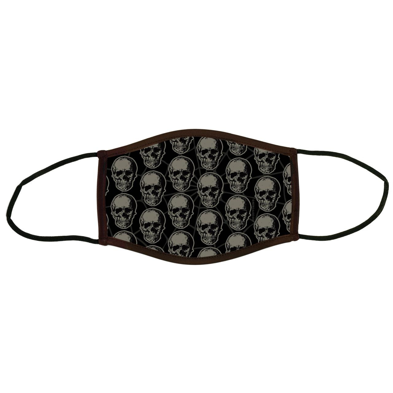 Black Death Adult Face Covering* -
