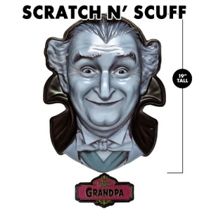 Scratch 'n Scuff Grandpa Munster 3-D Wall Decor* -