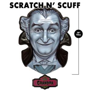Scratch 'n Scuff Grandpa Munster 3-D Wall Decor* -