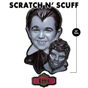 Scratch 'n Scuff Eddie Munster 3-D Wall Decor* -