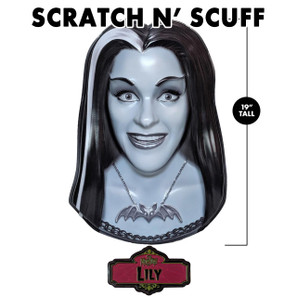 Scratch 'n Scuff Lily Munster 3-D Wall Decor* -