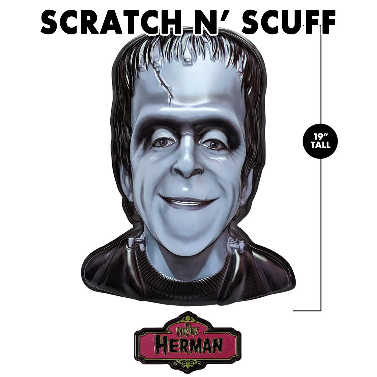 Scratch 'n Scuff Herman Munster 3-D Wall Decor* -