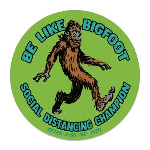 Social Distancing Champion Vinyl Sticker* -