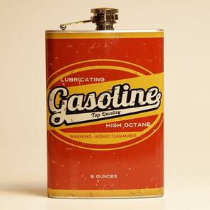 Gasoline Flask - OUT OF STOCK! - 0641938654578