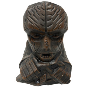 The Wolfman Ceramic Tiki Mug - Matte Brown* -