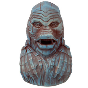 The Creature Of The Black Lagoon Ceramic Tiki Mug - Blue* -