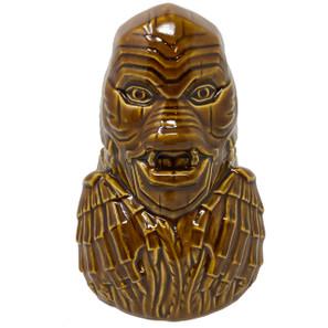 The Creature From The Black Lagoon Ceramic Tiki Mug - Brown* -