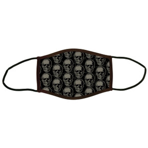 Child Black Death Face Covering* -