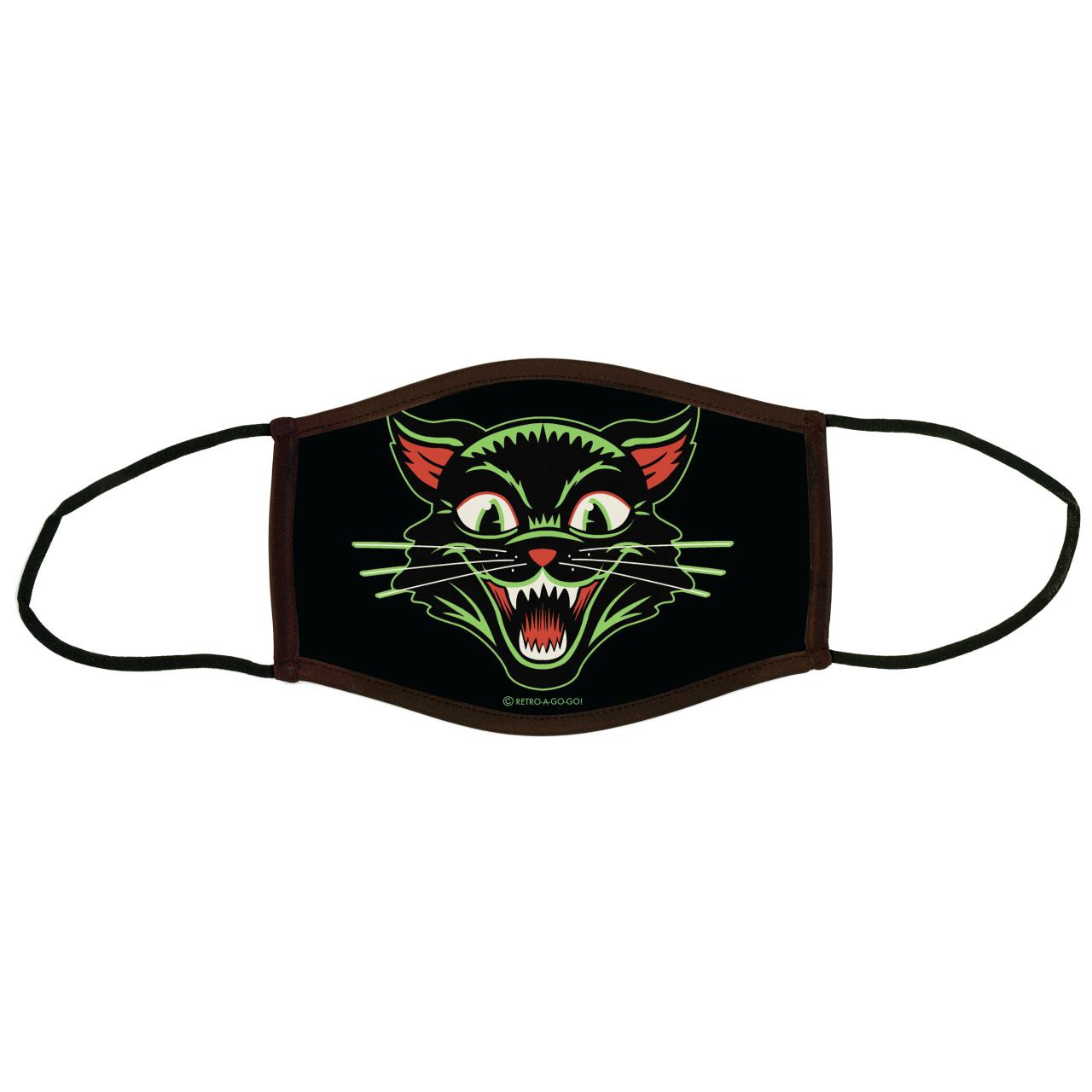 Child Frisky Kitty Face Covering* -