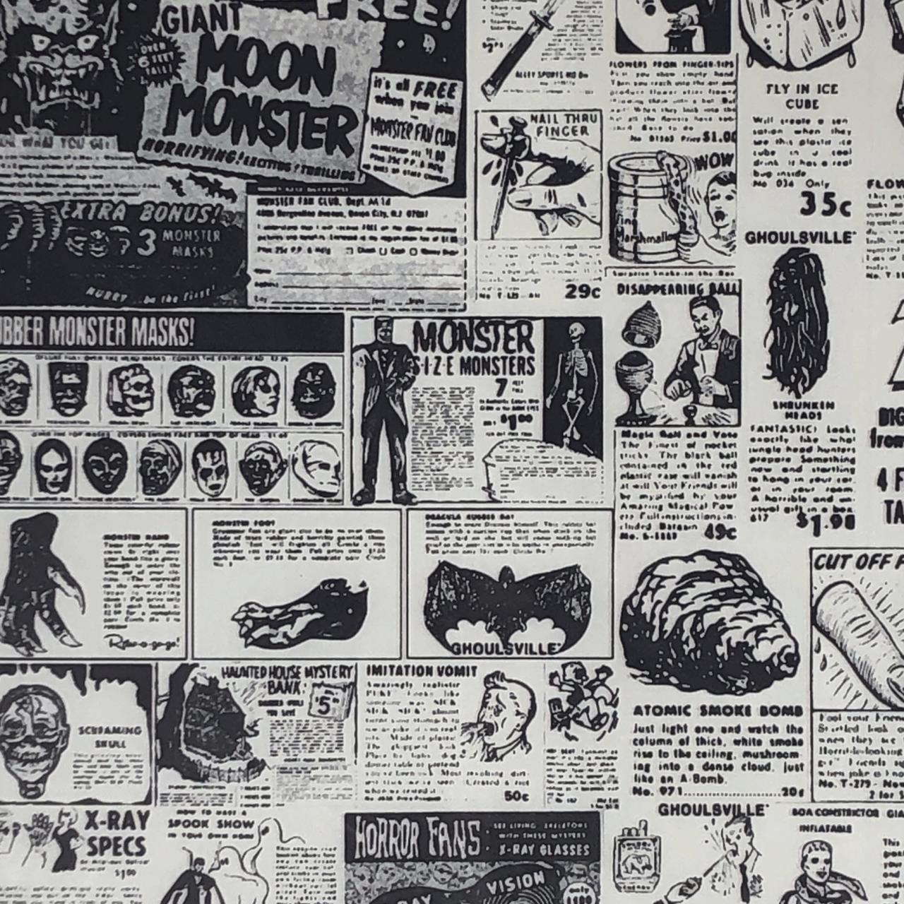 Vintage Novelty Ads Premium Tissue Paper* -