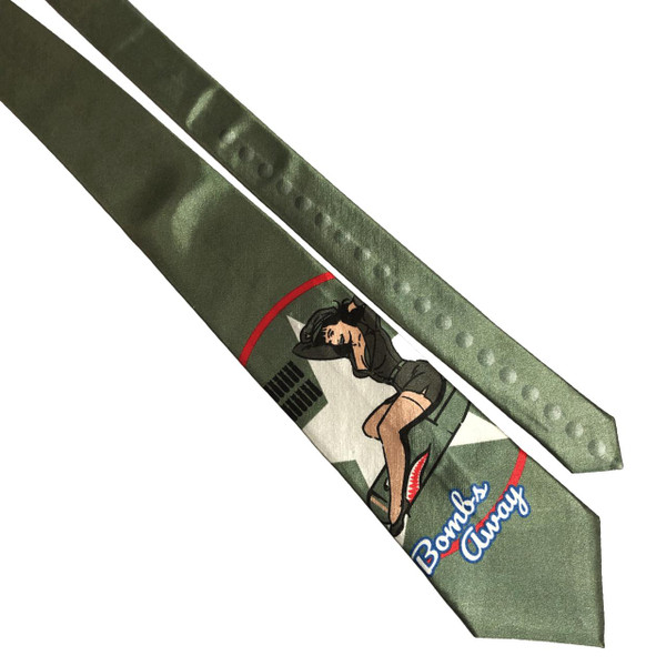 Bettie Page Bombs Away Men's Tie* -