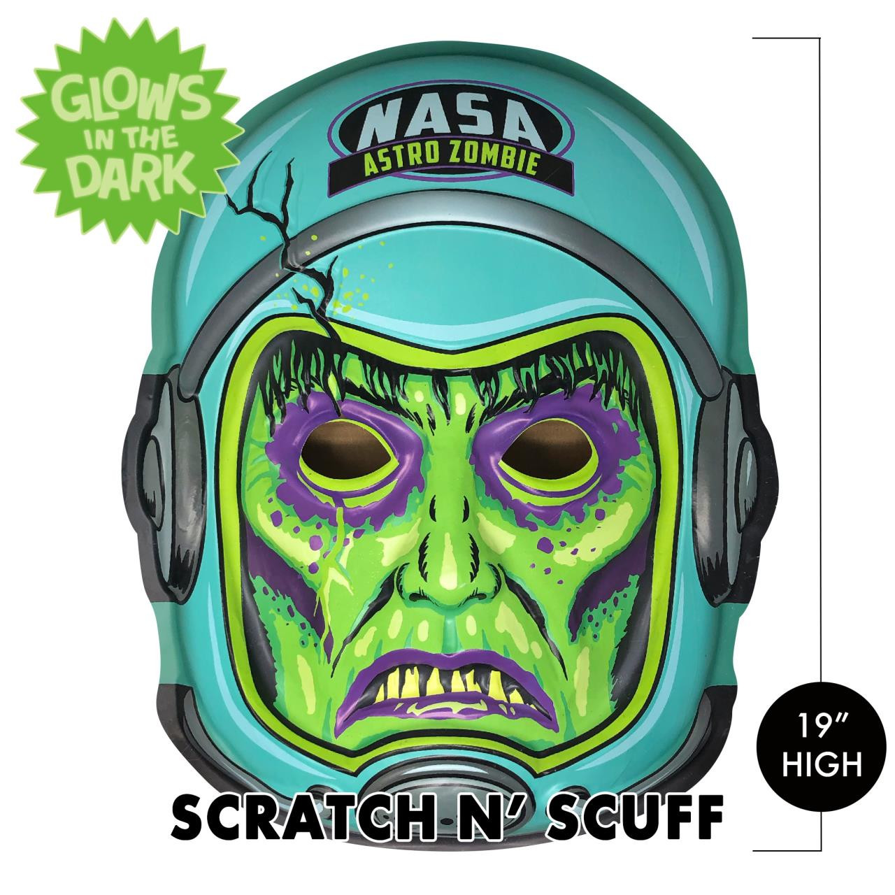Scratch n' Scuff Zero Gravity Zombie 3-D Wall Decor* -