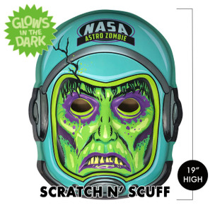 Scratch n' Scuff Zero Gravity Zombie 3-D Wall Decor* -